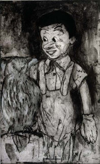 Boy and Owl 2000 (Pinocchio) Limited Edition Print - Jim Dine