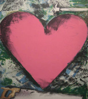 A Heart At the Opera Poster HS 1983 Limited Edition Print - Jim Dine