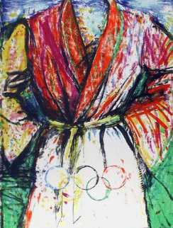 Olympic Robe 1988 Limited Edition Print - Jim Dine