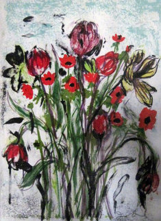 Anemones 2005 Limited Edition Print - Jim Dine