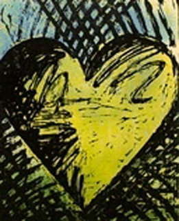 A Sunny Woodcut 1982 Limited Edition Print - Jim Dine