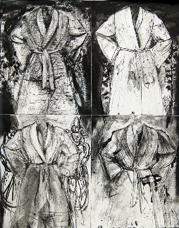 Blue Wash 1991 66x50 Limited Edition Print - Jim Dine