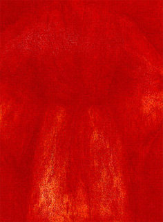 Sitting with Me Red 1996 58x42 #1 in edition Limited Edition Print - Jim Dine