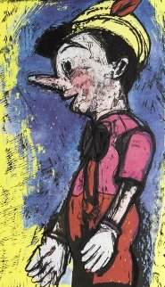 Lincoln Center Pinocchio HS 2008 Limited Edition Print - Jim Dine