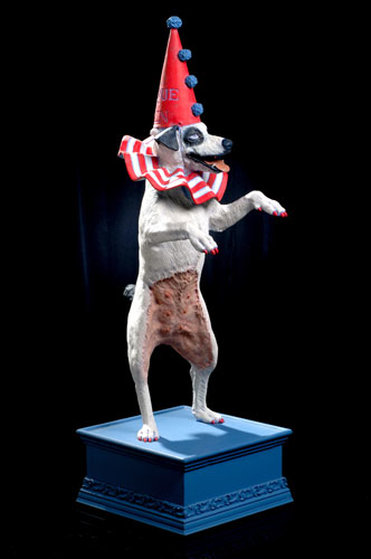 Cirque du Chien (Circus of the Dog ) Sculpture 38 in
