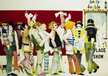 Gamblers Suite: Window 1976 Limited Edition Print - John Doyle