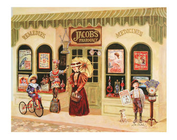 Corner Drug Store Limited Edition Print - Lee Dubin