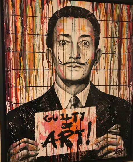 Guilty of Art - Salvador Dali 59x47