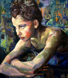After the Dance Embellished Limited Edition Print - Charles Dwyer