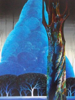 Blue Nocturne 1992 Limited Edition Print - Eyvind Earle