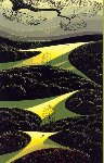 Three Little Fields 1991 Limited Edition Print - Eyvind Earle