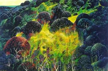 Autumn Fields 1990 Limited Edition Print by Eyvind Earle
