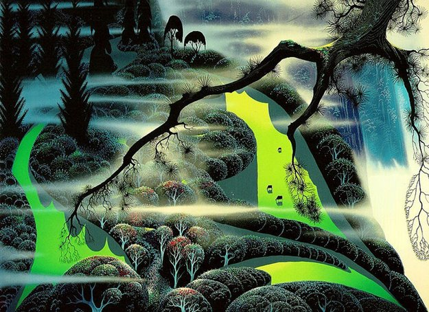 Green Pastures 1991 Limited Edition Print by Eyvind Earle