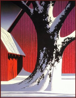 Ruby 1987 16x20 Limited Edition Print by Eyvind Earle