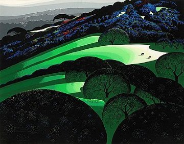 Spring 1991   Limited Edition Print - Eyvind Earle