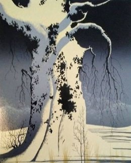 Black Oak 1982 Limited Edition Print - Eyvind Earle