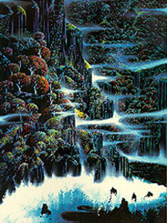 Ocean Cliffs  1991 Limited Edition Print - Eyvind Earle