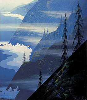 Stardust Blue 1990 Limited Edition Print - Eyvind Earle