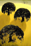 Three Oaks 1975 Limited Edition Print - Eyvind Earle