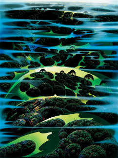 As Far As I Could See PP 1987 Limited Edition Print - Eyvind Earle