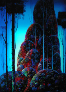 Tall Trees 1987 Limited Edition Print by Eyvind Earle