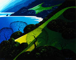 Above The Sea 1987 Limited Edition Print - Eyvind Earle