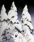 Winter Pine 1975 Limited Edition Print - Eyvind Earle
