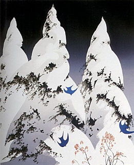 Winter Pine 1975 Limited Edition Print by Eyvind Earle