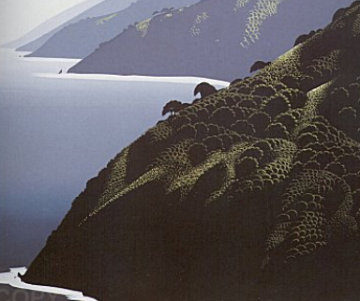 California Suite of 4 Serigraphs Limited Edition Print - Eyvind Earle