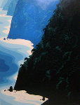 Blue Big Sur 1976 Limited Edition Print - Eyvind Earle