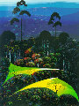 Inland From the Sea 1991 Limited Edition Print - Eyvind Earle