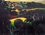 Santa Ynez Memories 1997 Limited Edition Print - Eyvind Earle