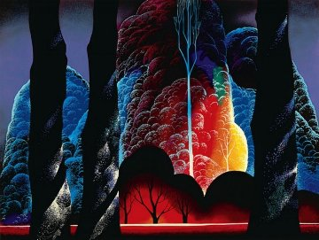 Forest Symphony 1992 Limited Edition Print - Eyvind Earle