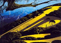 Gaviota Pass 1982 Limited Edition Print - Eyvind Earle
