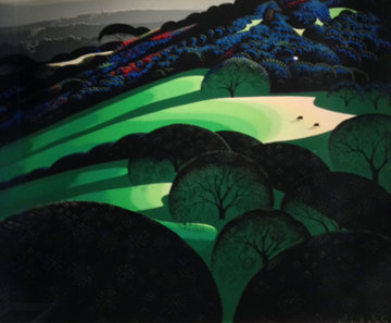 Spring 1981 Limited Edition Print - Eyvind Earle