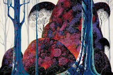 Jewel Forest 1988 Limited Edition Print - Eyvind Earle