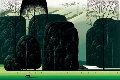 San Luis Obispo, California 1999 Limited Edition Print - Eyvind Earle