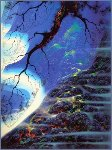 Mystical Big Sur 1998  Limited Edition Print - Eyvind Earle