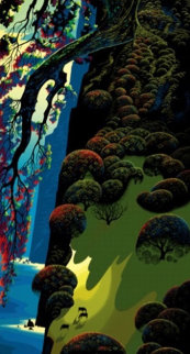 Enchanted Forest 1980 Limited Edition Print - Eyvind Earle