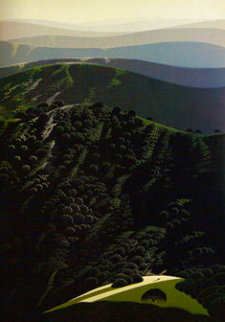 Hidden Valley 1975 Limited Edition Print - Eyvind Earle