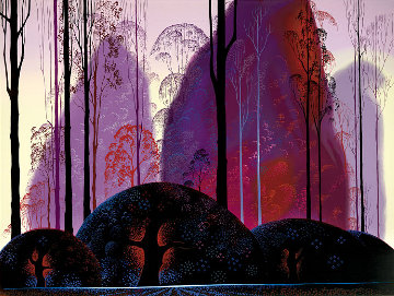 Mauve, Red, and Purple 1998 Limited Edition Print by Eyvind Earle