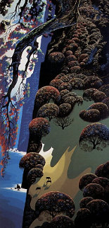 Enchanted Coast 1970 Limited Edition Print - Eyvind Earle