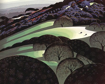 Spring 1970 Limited Edition Print by Eyvind Earle