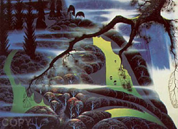 Green Pastures 1992 Limited Edition Print - Eyvind Earle