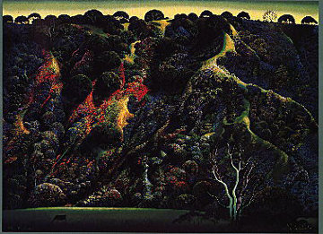 Gardener's Ranch 1991 Limited Edition Print by Eyvind Earle