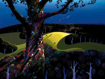 Before the Sun Goes Down 2003 Limited Edition Print by Eyvind Earle