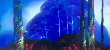 Purple Sunset AP Limited Edition Print by Eyvind Earle