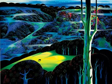 A Touch of Magic 1997 Limited Edition Print - Eyvind Earle