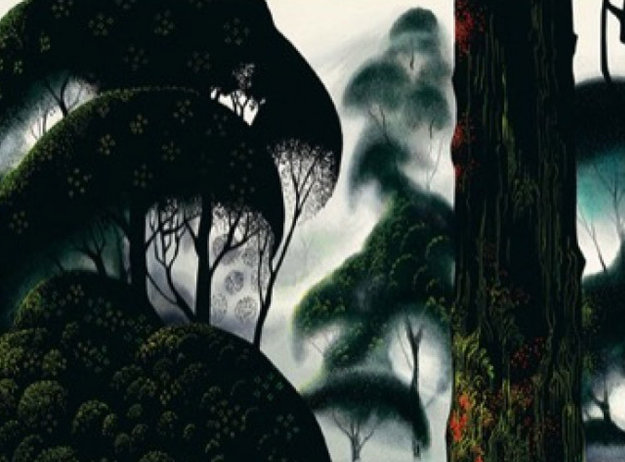 Forest Magic 1999 Limited Edition Print by Eyvind Earle