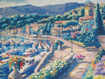 Terrace View II AP 1990 Limited Edition Print - Peter Eastham